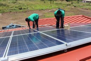 SOLAR SYSTEM FOR AIM. TRAINING CENTRE