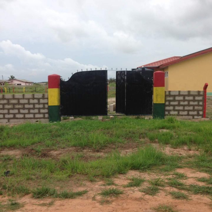 Fence for the Training Centre